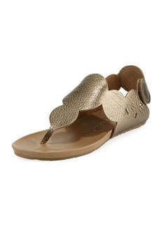 Pedro Garcia Jamee Flat Cervo Circle Thong Sandals