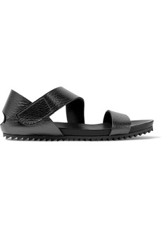 Pedro Garcia Jo Textured-leather Sandals