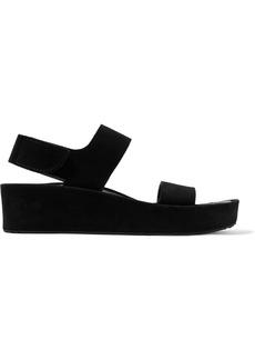 Pedro Garcia Lacey suede wedge sandals