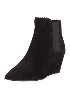 Pedro Garcia Ona Pinking Wedge Booties