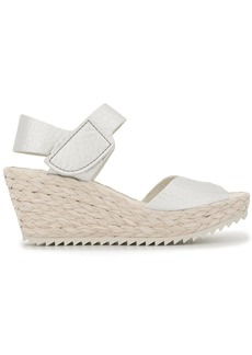 Pedro Garcia open toe wedge raffia sandals