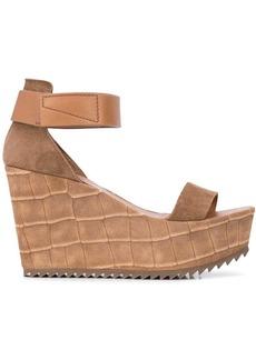Pedro Garcia open-toe wedge sandals