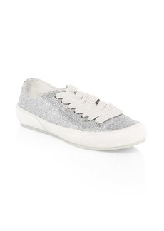 Pedro Garcia Parson Glittered Low-Top Sneakers