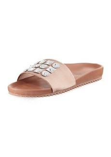 Pedro Garcia Amery Crystal-Embellished Sandal