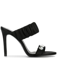 Pedro Garcia crystal embellished sandals - Black