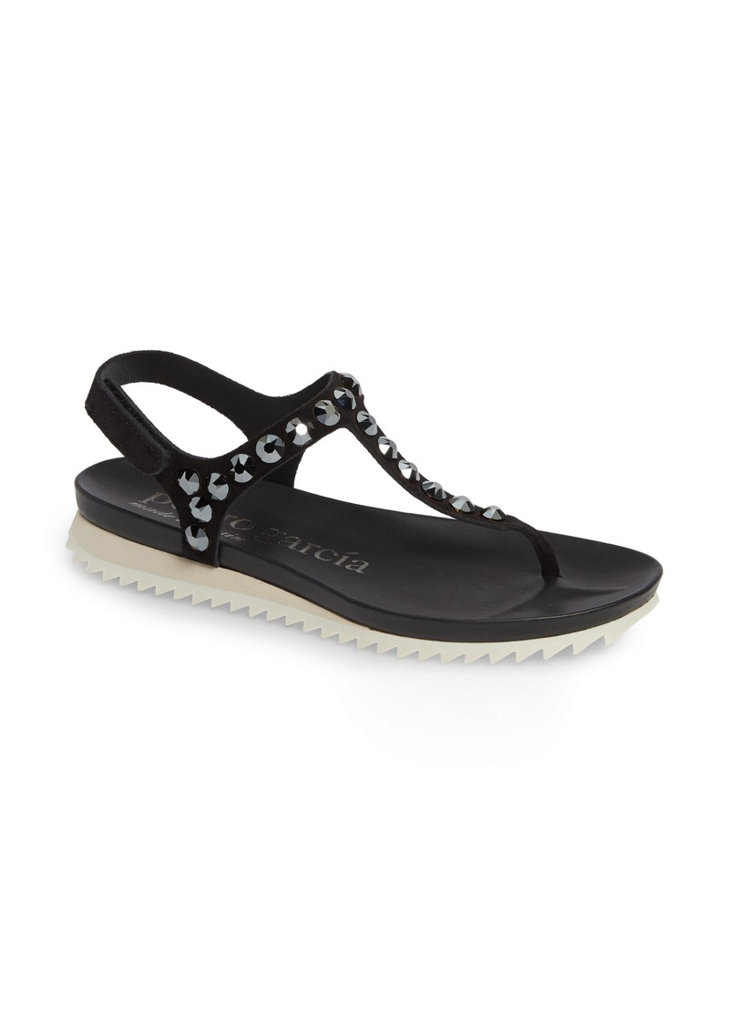 5b63206f1 Pedro Garcia Pedro Garcia Crystal Embellished T-Strap Sandal (Women ...