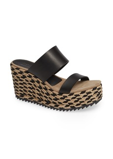 Pedro Garcia Dilia Woven Slide Wedge (Women)