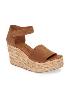 Pedro Garcia Dory Raffia Wedge Sandal (Women)