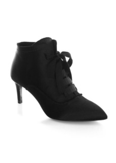 Pedro Garcia Eulalia Lace-Up Satin Booties