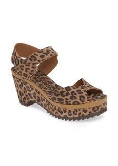 Pedro Garcia Fah Leopard Print Platform Sandal (Women) (Nordstrom Exclusive)
