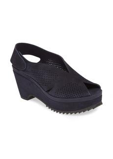 Pedro Garcia Floreal Perforated Slingback Platform Sandal (Women) (Nordstrom Exclusive)