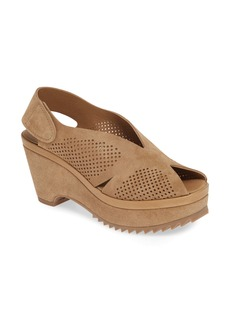 Pedro Garcia Floreal Perforated Slingback Platform Sandal (Women)