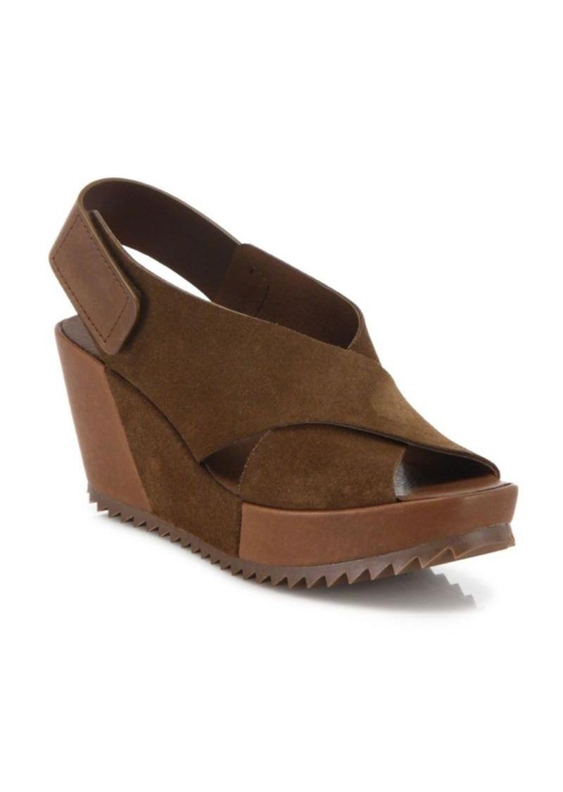 Pedro Garcia Freya Platform Wedge Sandals