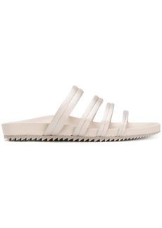 Pedro Garcia metallic open-toe sandals - Nude & Neutrals