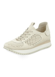 Pedro Garcia Omega Perforated Runner Sneakers