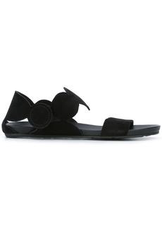 Pedro Garcia open toe dotty sandals - Black