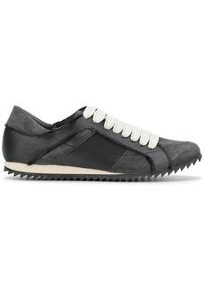 Pedro Garcia raw edge low top sneakers - Grey