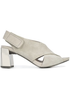 Pedro Garcia touch-strap sandals - Grey