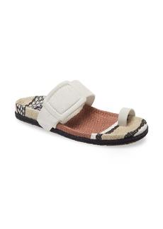 Pedro Garcia Woven Footbed Slide Sandal (Women)