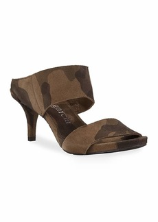 Pedro Garcia Winda Double Camo Sandals