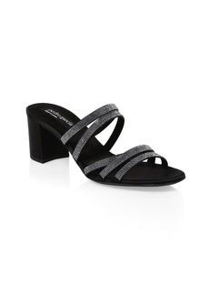 Pedro Garcia Xaki Embellished Sandals