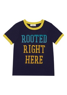 Peek...Aren't You Curious Peek Aren't You Curious Aaron Rooted Right Here Graphic Tee (Toddler, Little Boy & Big Boy)