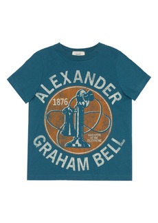 Peek...Aren't You Curious Peek Aren't You Curious Alexander Graham Bell Graphic Tee (Toddler, Little Boy & Big Boy)