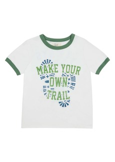Peek...Aren't You Curious Peek Aren't You Curious Anthony Make Your Own Trail Graphic Tee (Toddler, Little Boy & Big Boy)