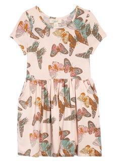 Peek...Aren't You Curious Peek Aren't You Curious Candice Butterfly Dress (Toddler, Little Girl & Big Girl)