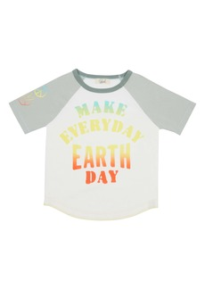 Peek...Aren't You Curious Peek Aren't You Curious Easton Make Everyday Earth Day Graphic Tee (Toddler, Little Boy & Big Boy)