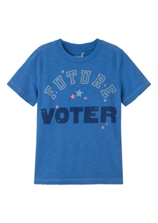 Peek...Aren't You Curious Peek Aren't You Curious Future Voter Graphic Tee (Toddler, Little Boy & Big Boy)