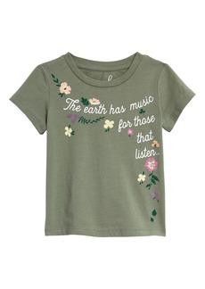 Peek...Aren't You Curious Peek Aren't You Curious Garden Music Graphic Tee (Toddler, Little Girl & Big Girl)