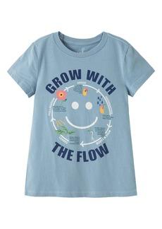 Peek...Aren't You Curious Peek Aren't You Curious Grow with the Flow Graphic Tee (Toddler, Little Girl & Big Girl)