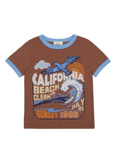 Peek...Aren't You Curious Peek Aren't You Curious Isaac Beach Clean Graphic Tee (Toddler, Little Boy & Big Boy)