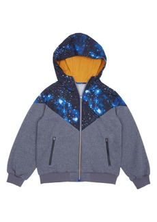 Peek...Aren't You Curious Peek Aren't You Curious Jonathan Space Full Zip Hoodie (Toddler Boys, Little Boys & Big Boys)