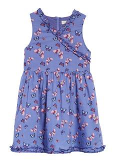 Peek...Aren't You Curious Peek Aren't You Curious Kids' Butterfly Print Dress (Toddler, Little Girl & Big Girl)