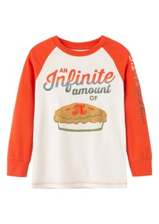 Peek...Aren't You Curious Peek Aren't You Curious Kids' Infinite Amount Baseball Graphic Tee (Toddler, Little Boy & Big Boy)