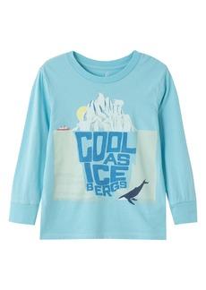 Peek...Aren't You Curious Peek Aren't You Curious Kids' Jeremy Cool as Icebergs Graphic Tee (Toddler, Little Boy & Big Boy)