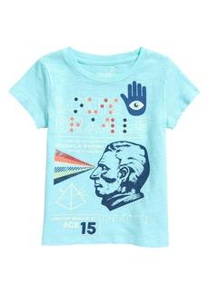 Peek...Aren't You Curious Peek Aren't You Curious Kids' Louis Braille Graphic Tee (Toddler, Little Girl & Big Girl)