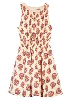 Peek...Aren't You Curious Peek Aren't You Curious Kids' Mae Floral Print Fit & Flare Dress (Toddler, Little Girl & Big Girl)
