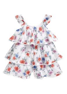 Peek...Aren't You Curious Peek Aren't You Curious Kids' Mare Floral Romper (Toddler, Little Girl & Big Girl)