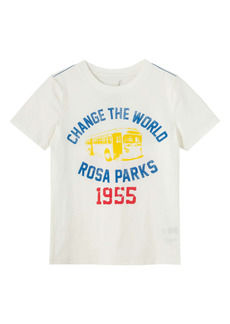 Peek...Aren't You Curious Peek Aren't You Curious Kids' Rosa Parks Change the World Graphic Tee (Toddler & Little Boy)