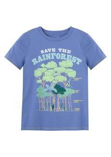 Peek...Aren't You Curious Peek Aren't You Curious Kids' Save the Rainforest Graphic Tee (Toddler & Little Boy)