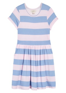 Peek...Aren't You Curious Peek Aren't You Curious Kids' Stripe Dress (Toddler, Little Girl & Big Girl)