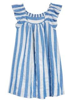 Peek...Aren't You Curious Peek Aren't You Curious Kids' Stripe Sleeveless Dress (Toddler, Little Girl & Big Girl)