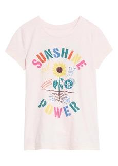 Peek...Aren't You Curious Peek Aren't You Curious Sunshine Power Graphic Tee (Toddler, Little Girl & Big Girl)