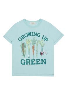 Peek...Aren't You Curious Peek Aren't You Curious Theodore Growing Up Green Graphic Tee (Toddler, Little Boy & Big Boy)