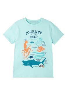Peek...Aren't You Curious Peek Aren't Your Curious Kids' Journey to the Deep Graphic Tee (Toddler, Little Boy & Big Boy)
