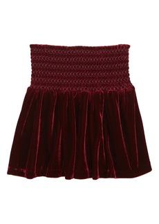 Peek...Aren't You Curious Peek Pixie Velvet Skirt (Toddler Girls, Little Girls & Big Girls)