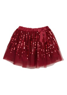 Peek...Aren't You Curious Peek Serena Sequin Embellished Tulle Skirt (Toddler Girls, Little Girls & Big Girls)